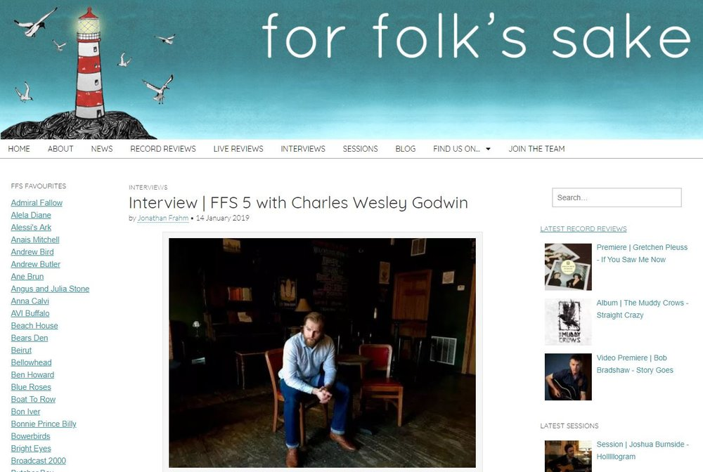 For Folks Sake Interview
