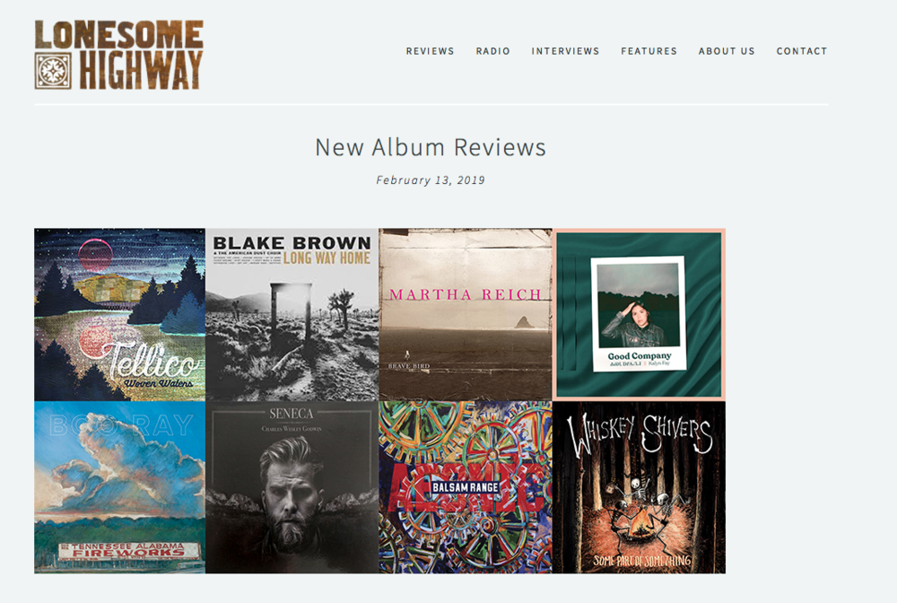 Lonesome Highway Album Review