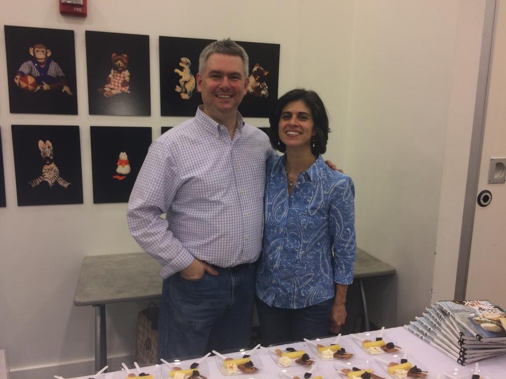 Adam Centamore and his wife, Carmen