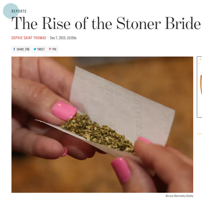 Rise of the Stoner Bride