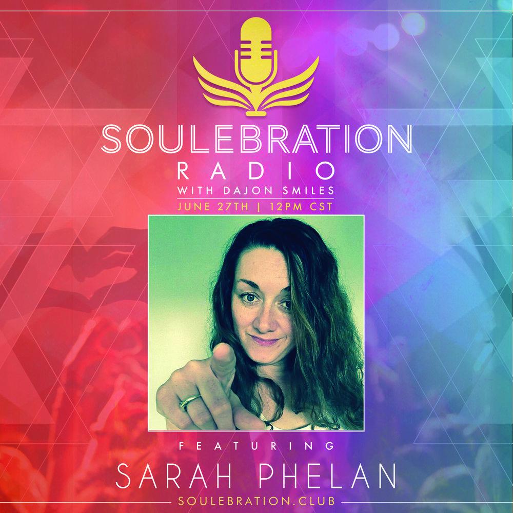 27 June - Sarah Phelan