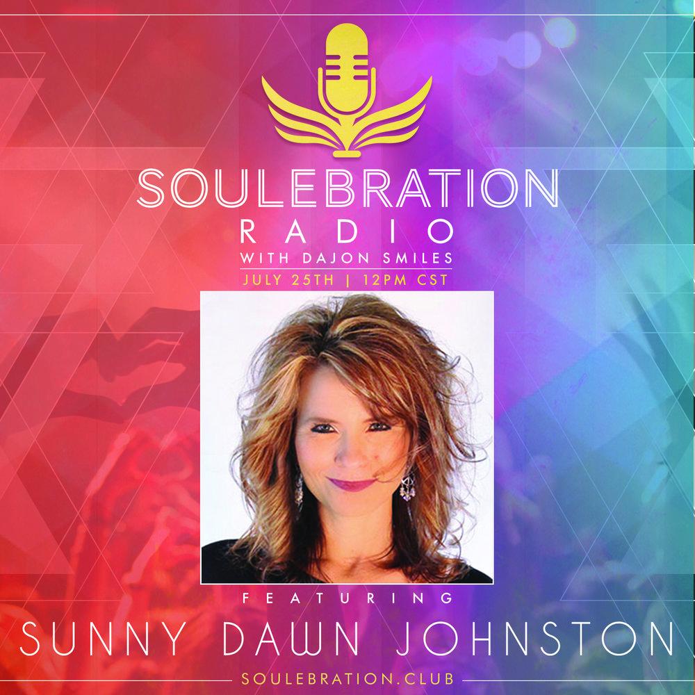 25 July - Sunny Dawn Johnston