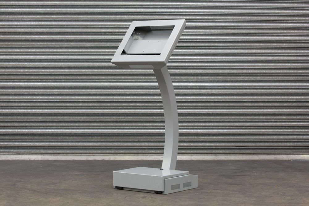 Portable Standing Touchscreen Kiosk Enclosure