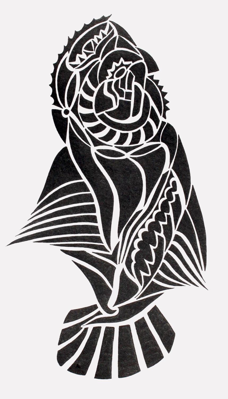 doodle #7, 6X10.25, 2015