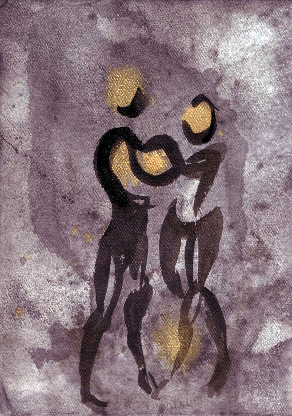 Union , acrylic and India ink, 2005 private collection