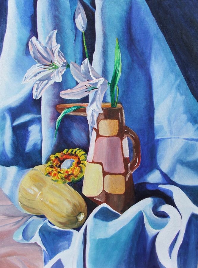 untitled (still life), oil on canvas, 18X24, 2004