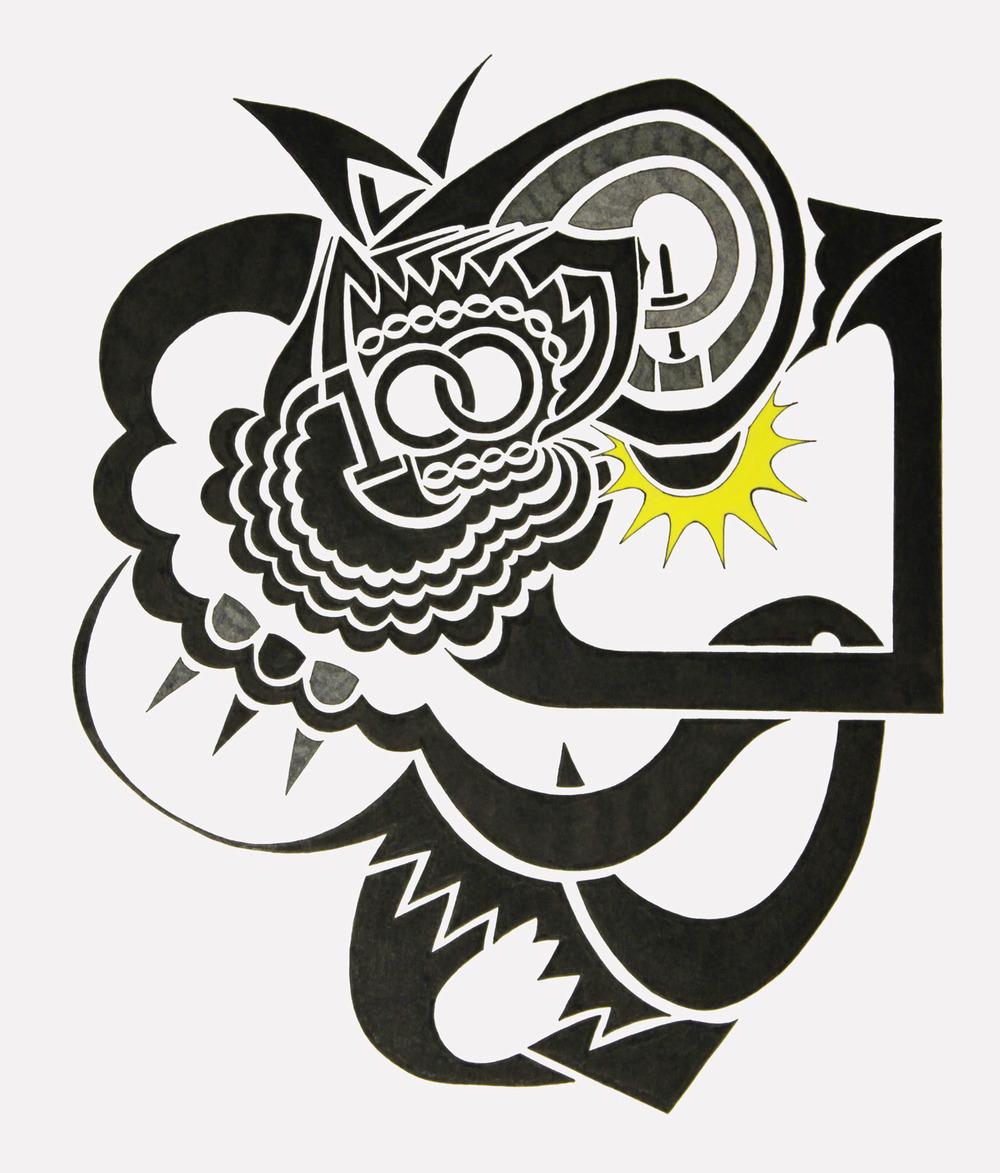 doodle #44, 2015