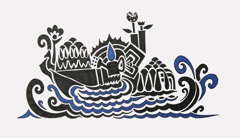 doodle #45, 2015