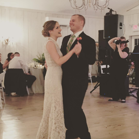 The music in our ceremony was absolutely perfect. I can't thank you enough for helping to make our day so perfect!  Ali Grant,  Married October 2015, St. Leo's Holy Rosary Church, Ashley, PA