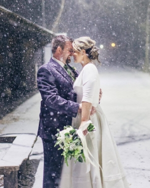 Even with all the snow, our amazing Philly bride didn't miss a beat!