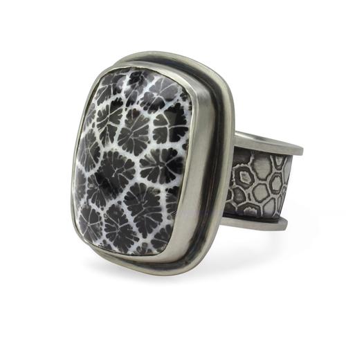 Alaska Coral Ring