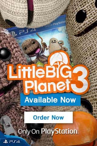 Little Big Planet 3 Austin Greene Design