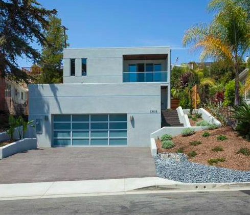 Or the Contemporary Home in Dana Point, Ca?