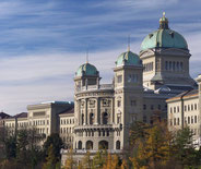 Bundeshaus in Bern Switzerland