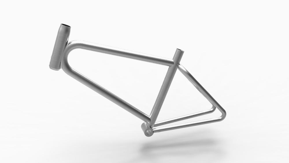 BUB  / Naked standard frame in lightweight aluminium.