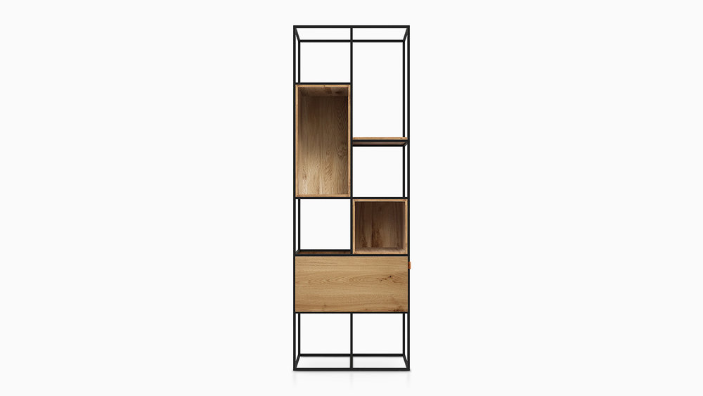 KABINET  / The minimalistic KABINET in oak.