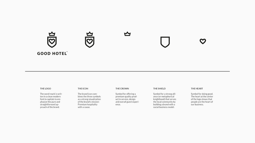 Good Hotel  / Brand concept
