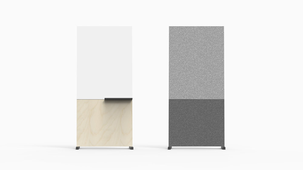 Stylish  / WITBORD can be outfitted to match with the interior finishes of any office.