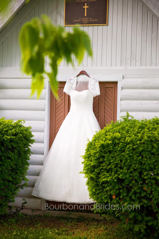 Wedding Dress   Walnut Hill Church   Kentucky Wedding Photographer   Bourbon & Brides Kentucky Wedding Photography