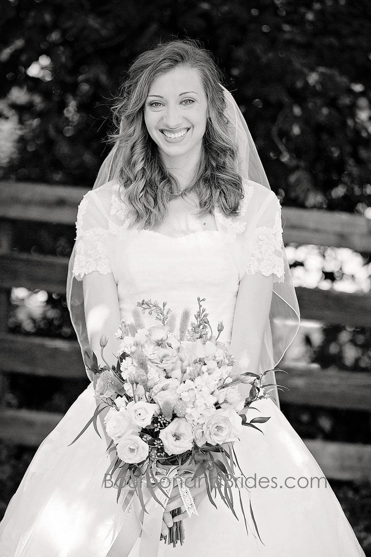 Bride Portrait   Walnut Hill Church   Kentucky Wedding Photographer   Bourbon & Brides Kentucky Wedding Photography
