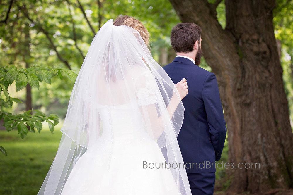 First Look   Walnut Hill Church   Kentucky Wedding Photographer   Bourbon & Brides Kentucky Wedding Photography