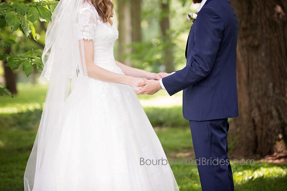 bride and Groom   Walnut Hill Church   Kentucky Wedding Photographer   Bourbon & Brides Kentucky Wedding Photography