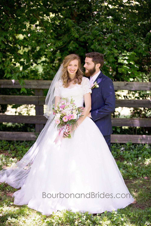 Bride and Groom Portraits   Walnut Hill Church   Kentucky Wedding Photographer   Bourbon & Brides Kentucky Wedding Photography