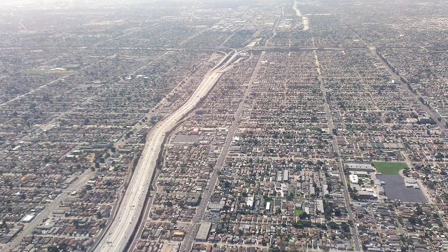Modern day South Los Angeles. C.C. Image: Wikipedia Commons.