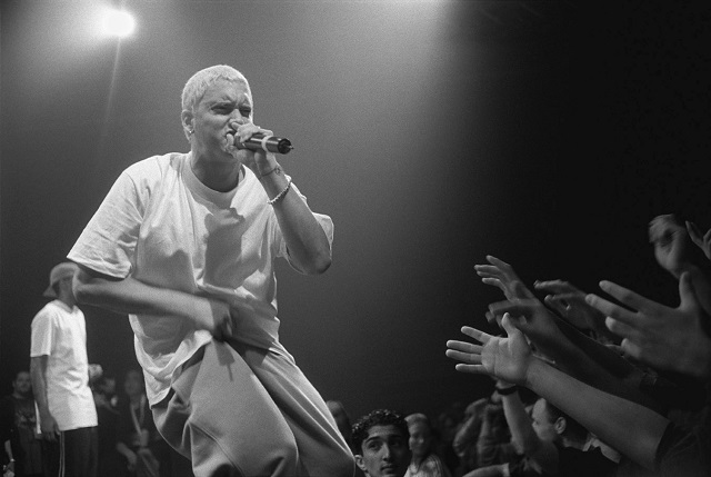 Eminem c. 1999. C.C. Image: Mika Väisänen on Wikipedia Commons.