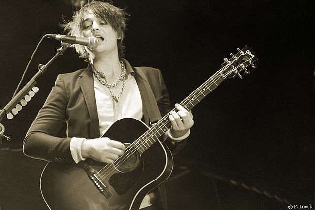 Pete Doherty. C.C. Image: Yeti-vert on Wikimedia Commons.