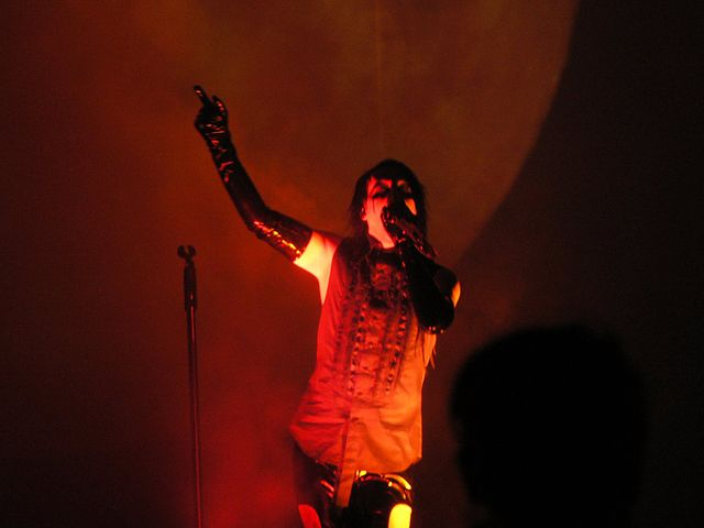 Marilyn Manson. C.C. Image: Sebi Ryffel on Wikimedia Commons.