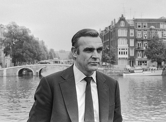Sean Connery. C.C. Image: Rob Mieremet/Anefo on Wikimedia Commons.