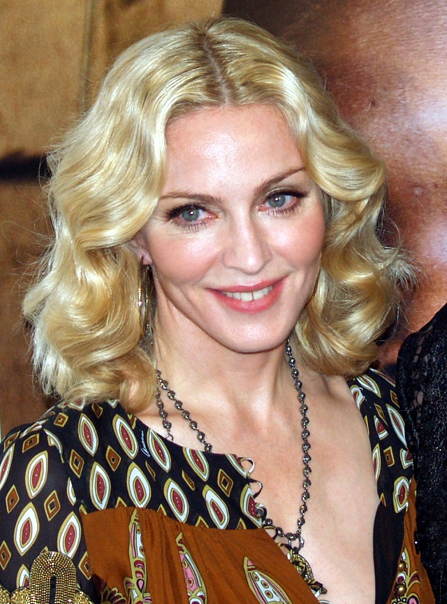 Madonna. C.C. Image: David Shankbone on Wikimedia Commons.