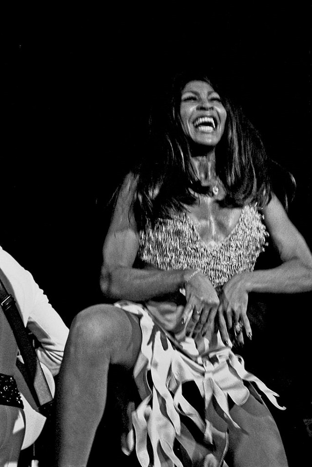Tina Turner. C.C. Image: Heinrich Klaffs on Wikimedia Commons.