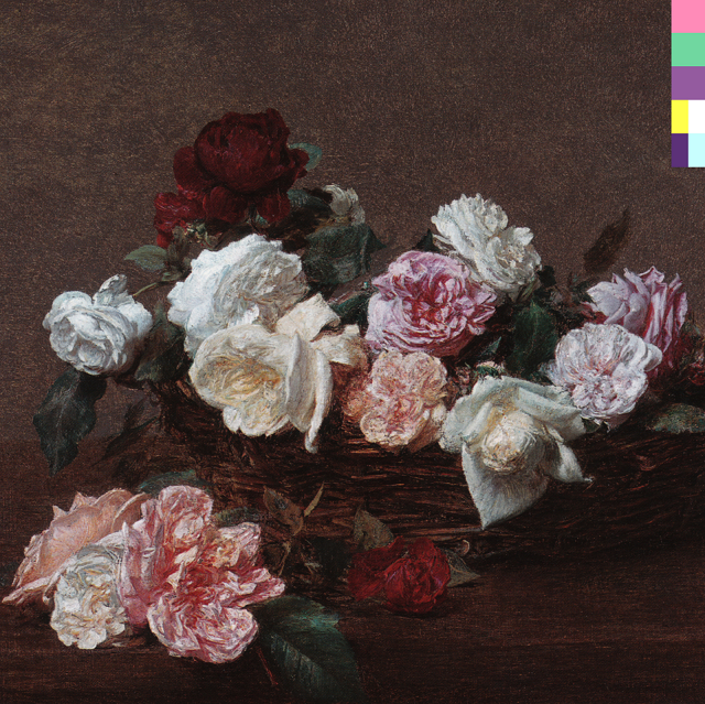 New Order's Power, Corruption, & Lies (1983) cover, used on the grounds of fair use.