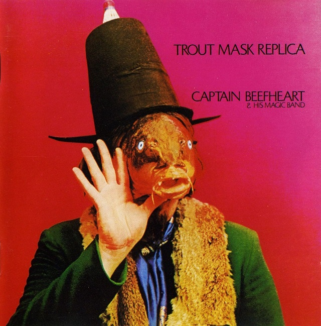 Captain Beefheart's Trout Mask Replica (1969) cover, used on the grounds of fair use.