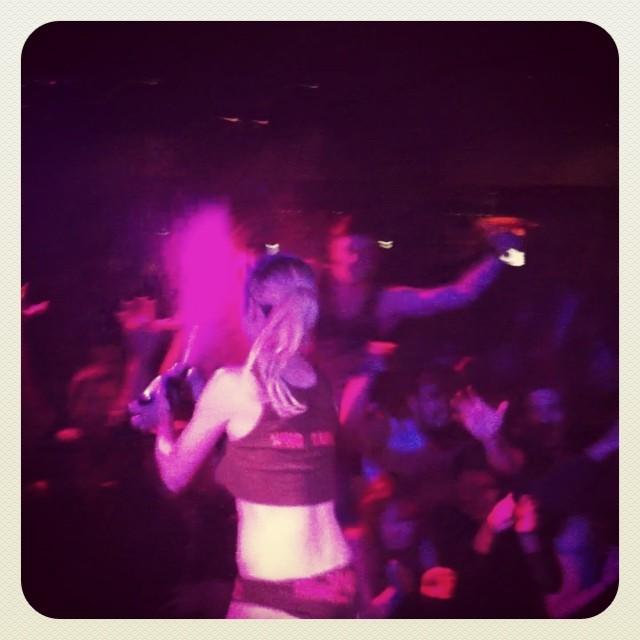 #strokeme with #champagne at #mickeyavalon #cornerhotel #melbourne 👏