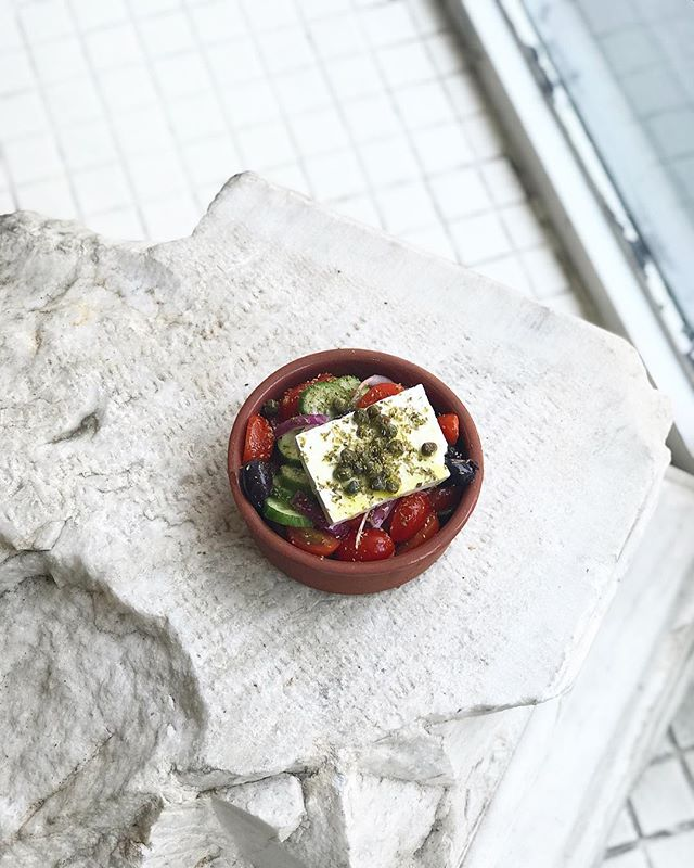 Our Greek Salad is a lovely idea today 🥗