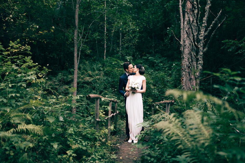 J & M - Bröllopsfotograf Umeå