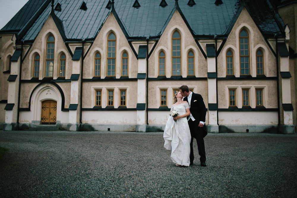 E & V - Bröllopsfotograf Umeå