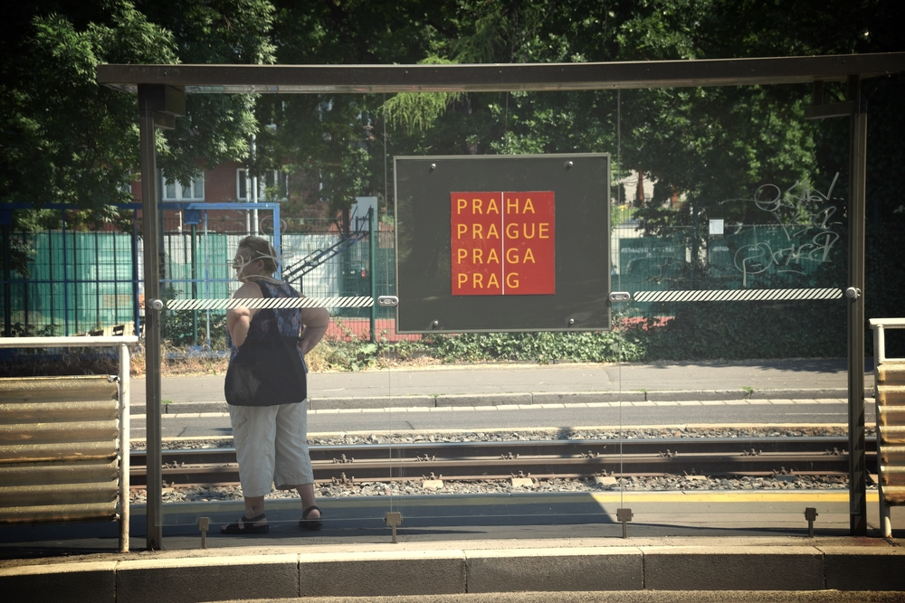 Prague transit.