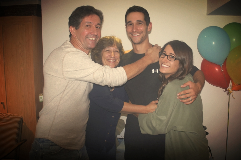 My Family! My Mom, Dad, Brother KEvin and Myself!