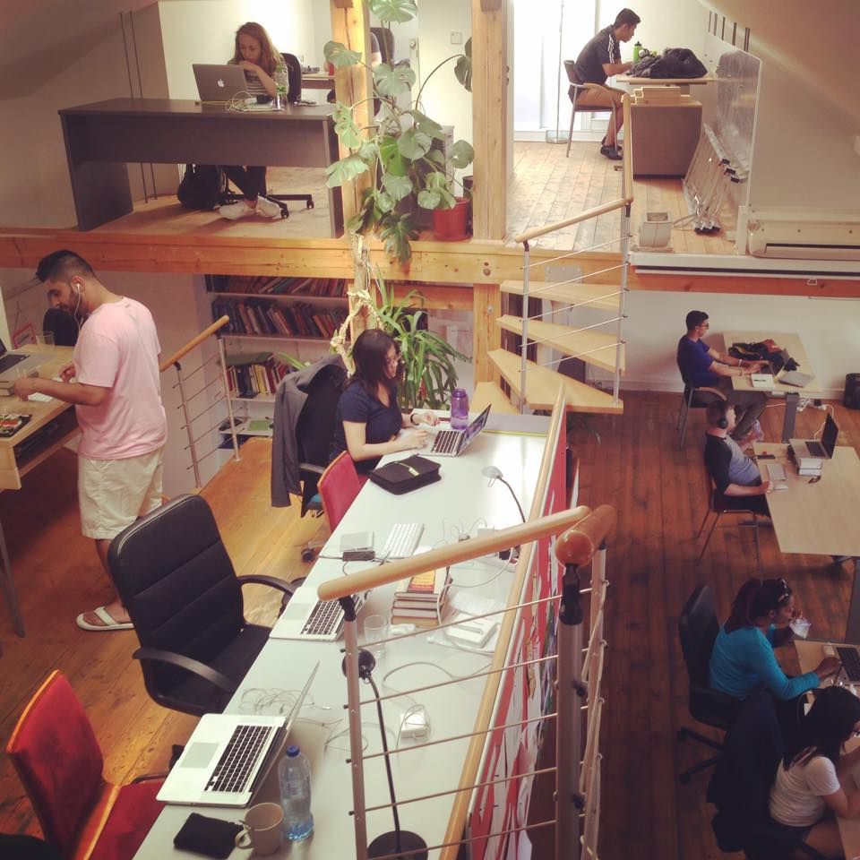 Locus co-working space . prague, czech republic.