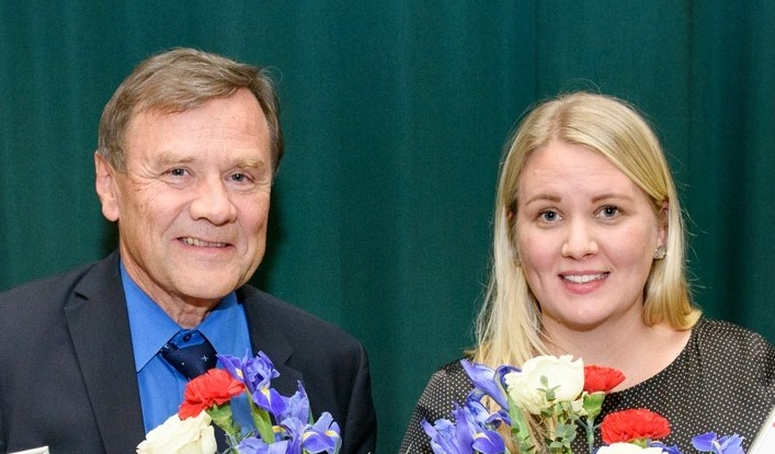 Reijo Salonen ja Reetta Kivelä