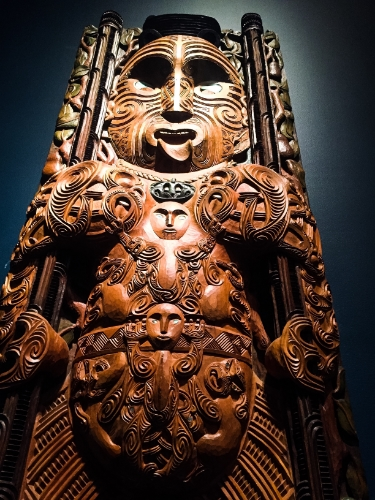 Maori (native New Zealanders) carvings