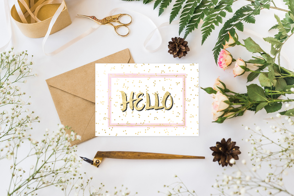 Free printable notecard