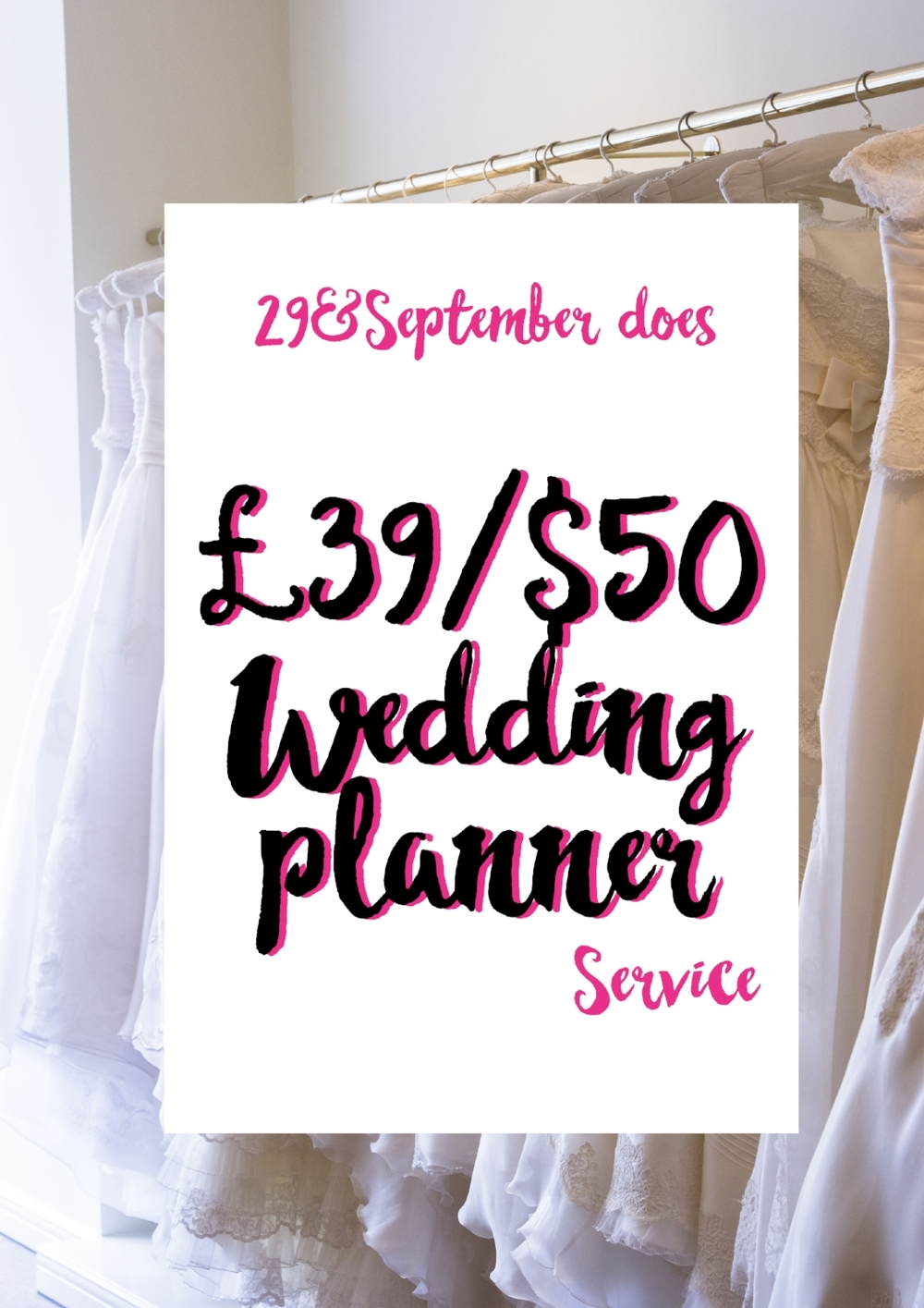 29&September wedding planning service