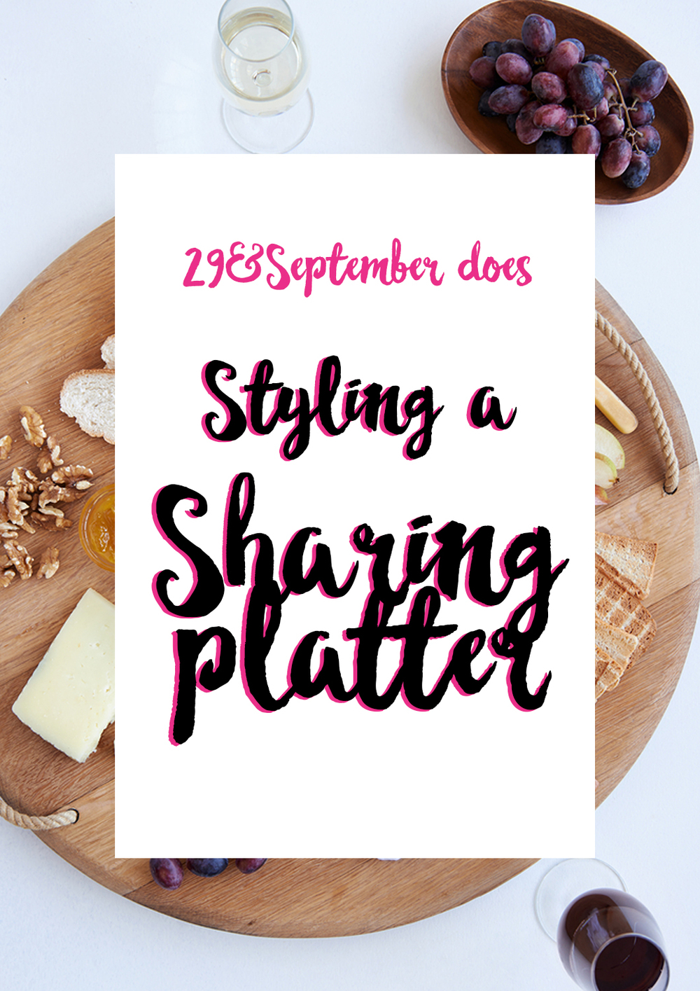 How to make a delicious sharing platter