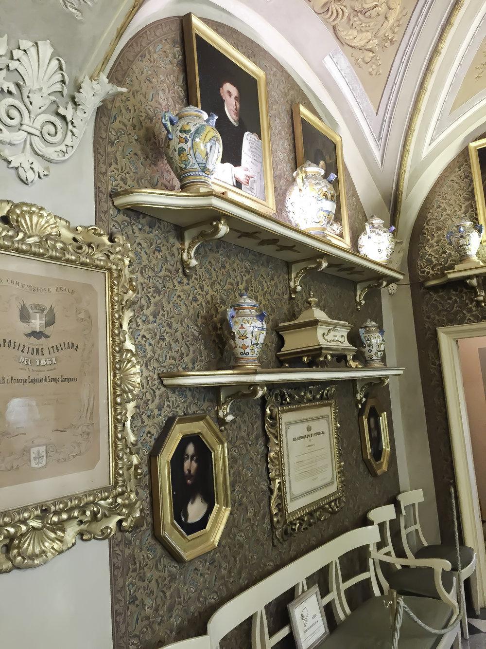 The perfumery at 16 Via Della Scala