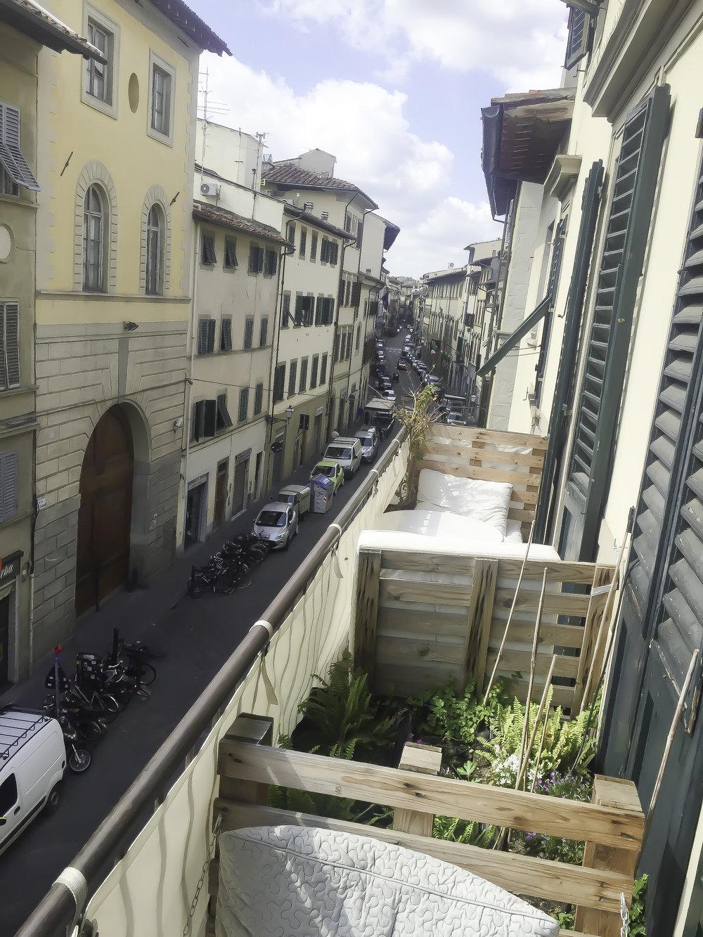 Via San Gallo in the San Lorenzo district,